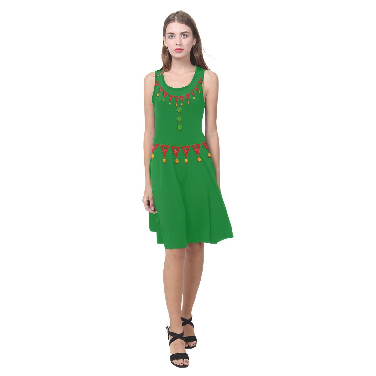 Christmas Elf - Santa's Helper -Green Suit