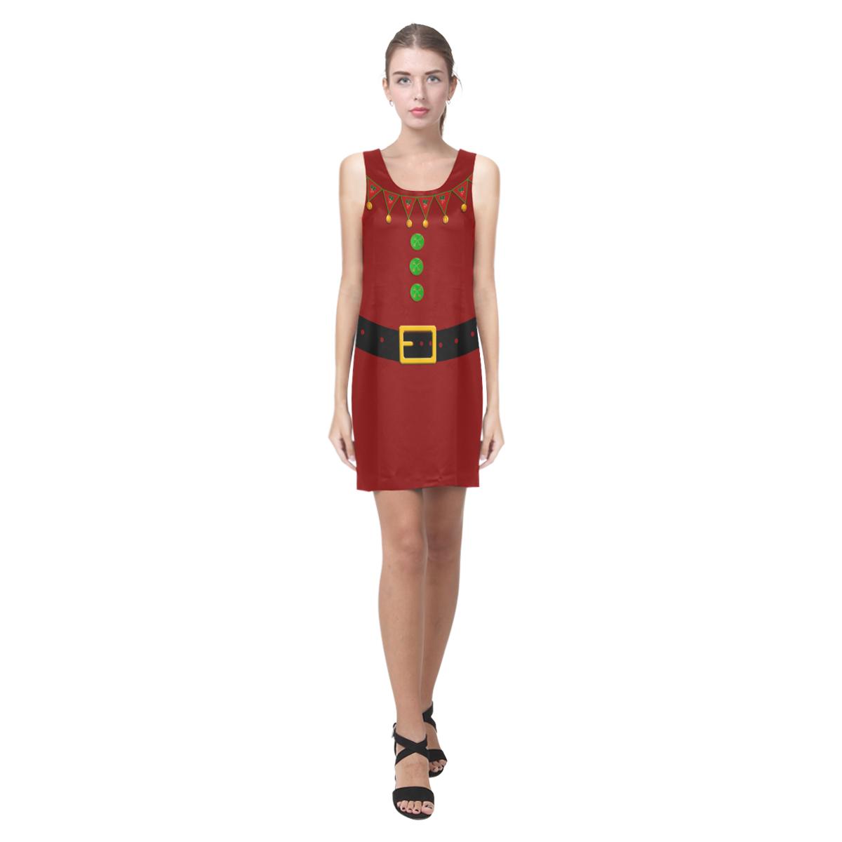 Christmas Elf - Santa's Helper - Red Suit