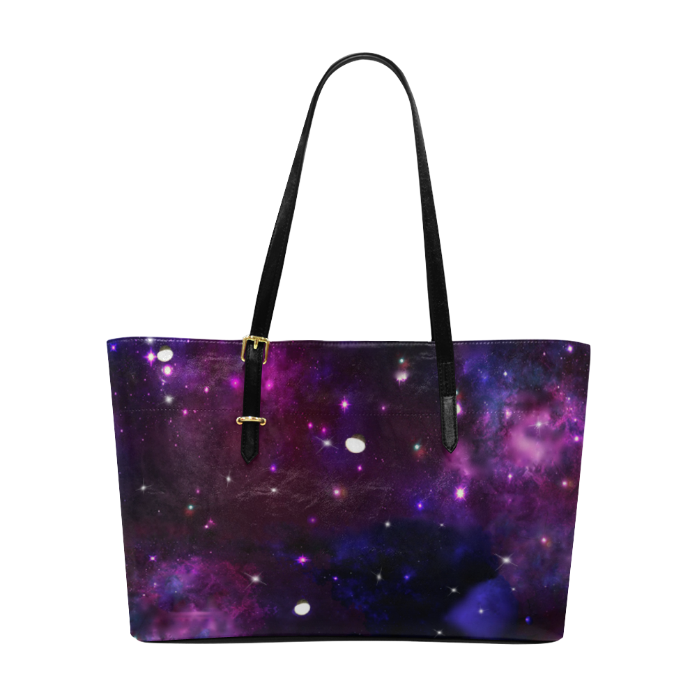 Midnight Blue Purple Galaxy