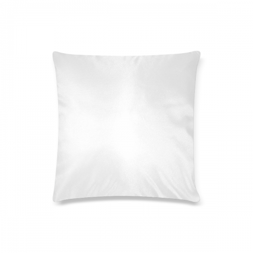 "Custom Pillow Case 16""x16""  (One Side Printing) No Zipper"
