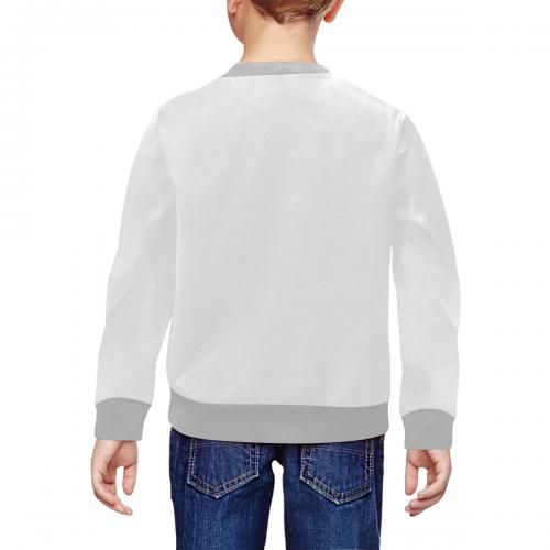All Over Print Crewneck Sweatshirt for Kids (Model H29)