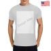 Men's Heavy Cotton T-Shirt (Two Side Printing)