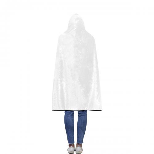 Flannel Hooded Blanket 50''x60''