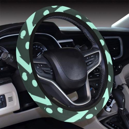Steering Wheel Cover with Elastic Edge