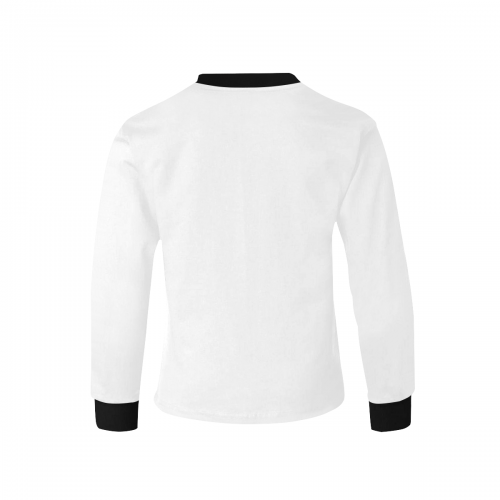 Kids' Rib Cuff Long Sleeve T-shirt (Model T64)
