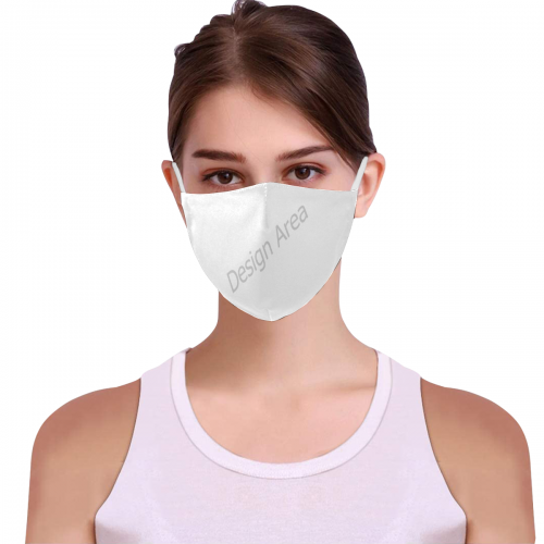 3D Mouth Mask with Drawstring (60 Filters Included) (Model M04)