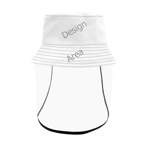 Women's Bucket Hat (Detachable Face Shield)