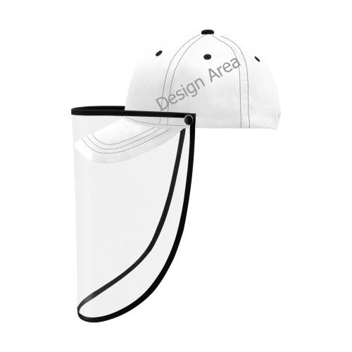 Dad Cap (Detachable Face Shield)