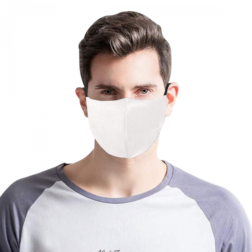 3D Plus Size Mouth Mask with Drawstring (Model M05)