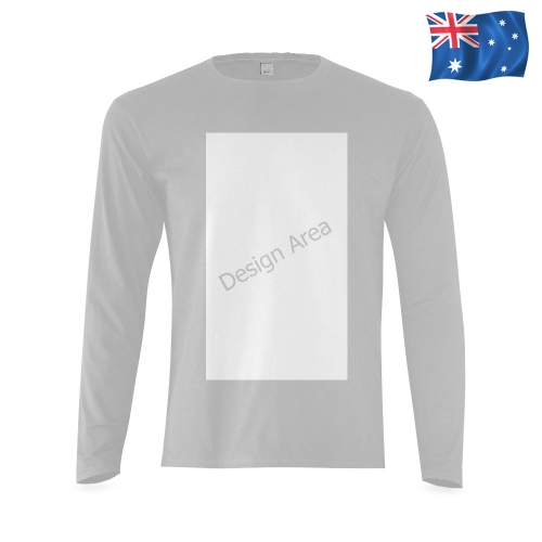 Sunny Men's T-shirt (long-sleeve) (Model T08)