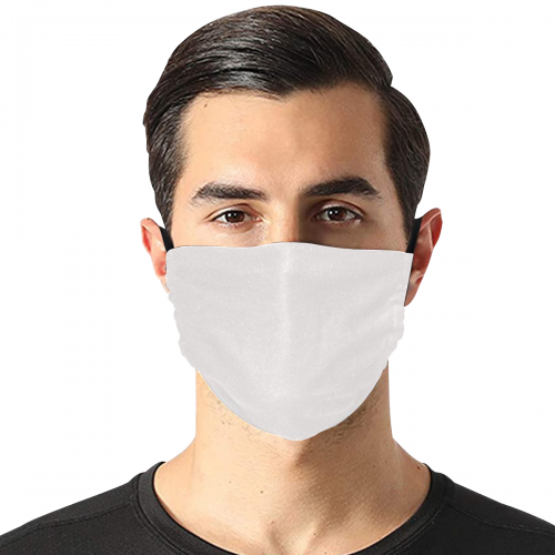 Flat Mouth Mask with Drawstring (Model M07)