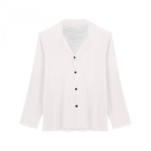 Women's Long Sleeve Pajama Shirt (Sets 02)