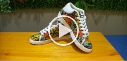 Men's Chukka Canvas Shoes (Model 003)