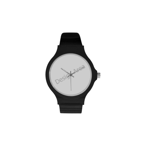Unisex Round Plastic Watch(Model 302)