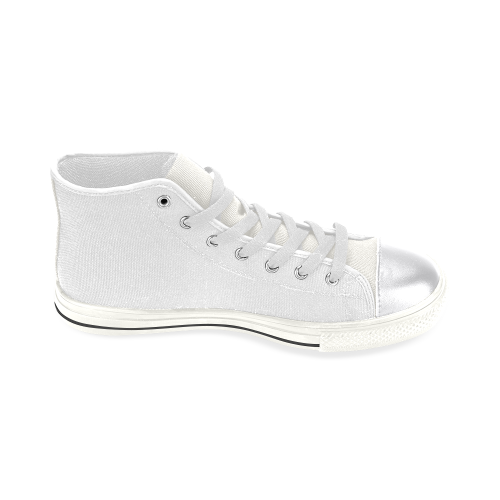 Women's Classic High Top Canvas Shoes (Model 017)