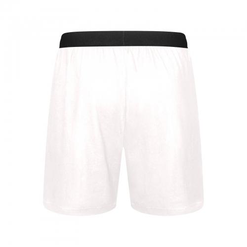 Men's Mid-Length Pajama Shorts (Model L46)