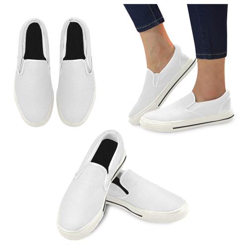 Women's Unusual Slip-on Canvas Shoes (Model 019)