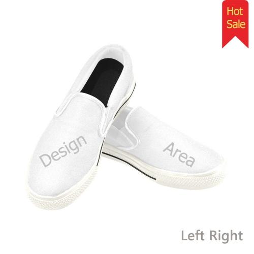 Men's Unusual Slip-on Canvas Shoes (Model 019)