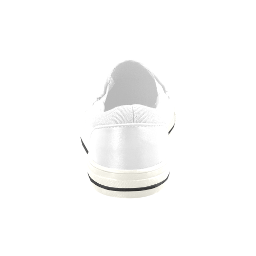 Men's Slip-on Canvas Shoes (Model 019)