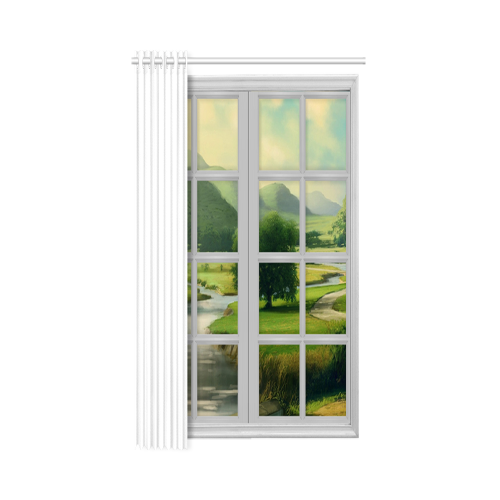 "New Window Curtain 52"" x 72""(One Piece)"
