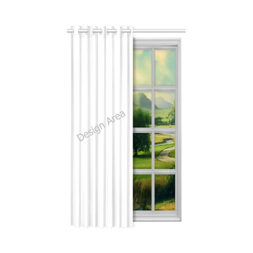 "New Window Curtain 52"" x 63""(One Piece)"