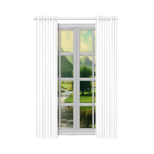 """New Window Curtain 52"""" x 63""""(One Piece)"""