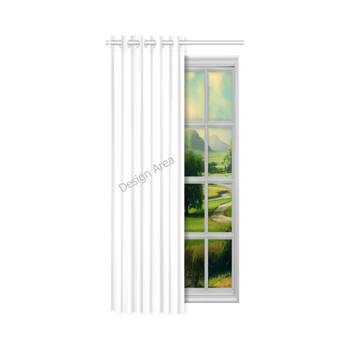 "New Window Curtain 50"" x 108""(One Piece)"