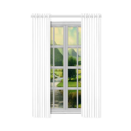 """New Window Curtain 50"""" x 108""""(One Piece)"""