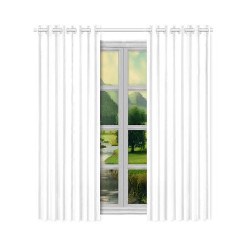 """New Window Curtain 50"""" x 96""""(One Piece)"""