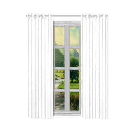 """New Window Curtain 50"""" x 84""""(One Piece)"""
