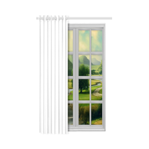 "New Window Curtain 50"" x 84""(One Piece)"