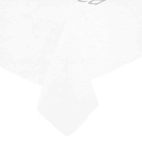 "Cotton Linen Tablecloth 52""x 70"""
