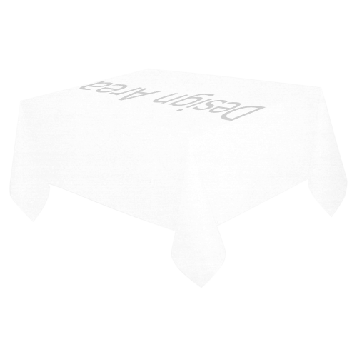 "Cotton Linen Tablecloth 52""x 70"""