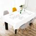 "Cotton Linen Tablecloth 60""x 104"""