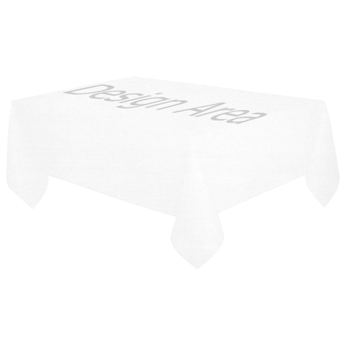 "Cotton Linen Tablecloth 60""x 104"""