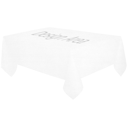 "Cotton Linen Tablecloth 60""x120"""