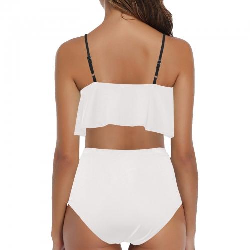 High Waisted Ruffle Bikini Set (Model S13)