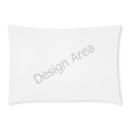 Custom Rectangle Pillow Cases 20x30 (One Side)