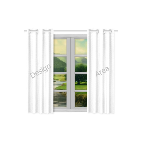 "Kitchen Curtain 26"" X 39"" (Two Piece)"