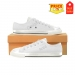Low Top Canvas Shoes for Kid (Model 018)