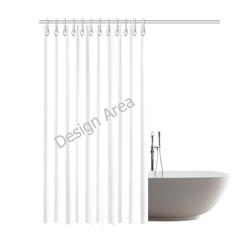"Shower Curtain 69""x84"""