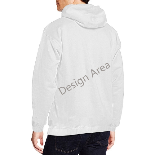 All Over Print Hoodie for Men (USA Size) (Model H13)