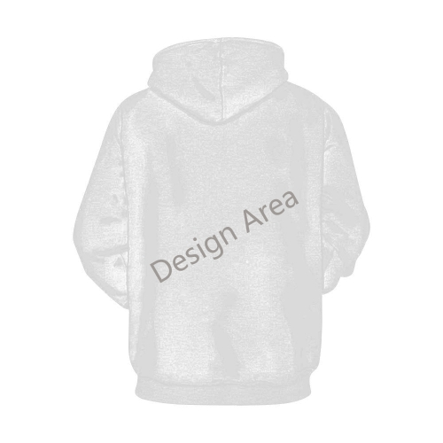 All Over Print Hoodie for Women (USA Size) (Model H13)