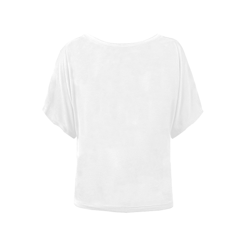Women's Batwing-Sleeved Blouse T shirt (Model T44)