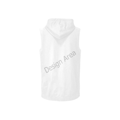 All Over Print Sleeveless Zip Up Hoodie for Women (Model H16)