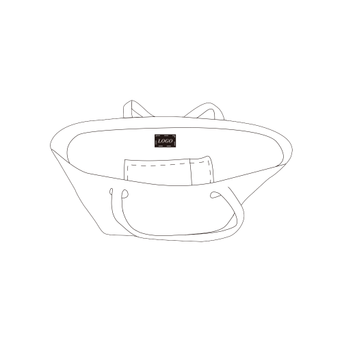 Private Brand Tag on Bags Inner (No Zipper) (5cm X 3cm)