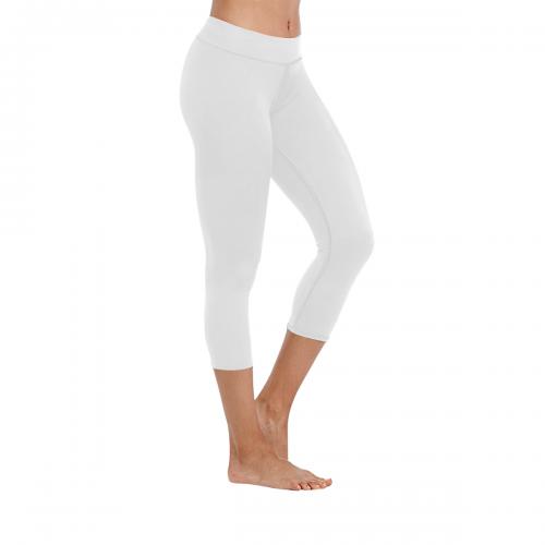 New Low Rise Capri Leggings (Flatlock Stitch) (Model L09)