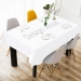 "Cotton Linen Tablecloth 60"" x 90"""