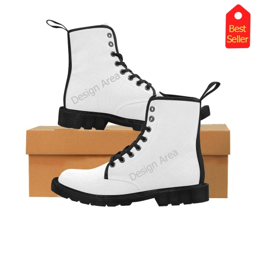 Martin Boots for Kids (Black) (Model 1203H)
