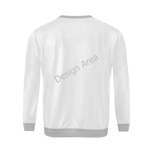All Over Print Crewneck Sweatshirt for Men/Large (Model H18)